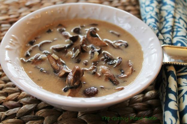 Portobella Mushroom Soup